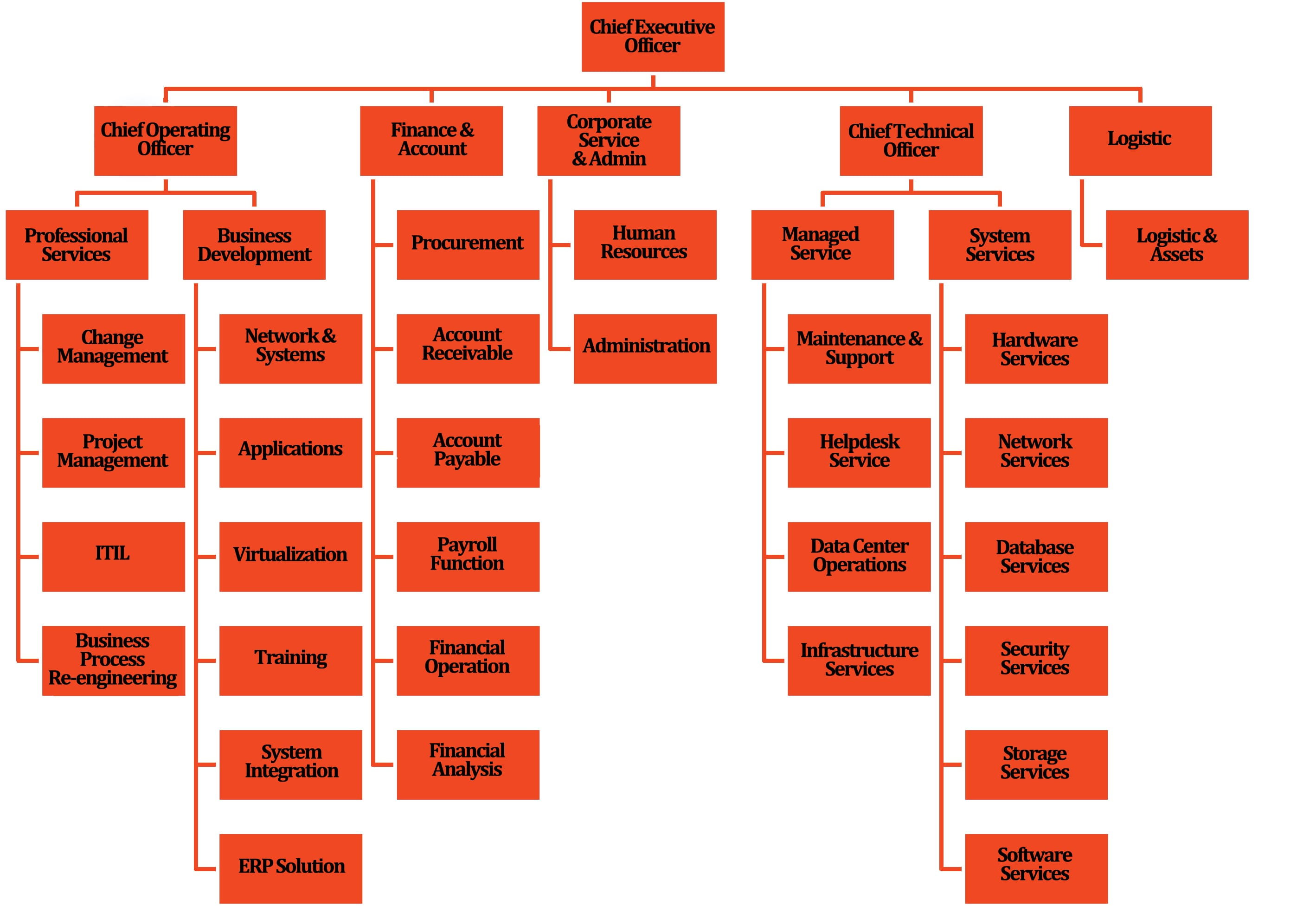 Our Organization Structure - English BLK